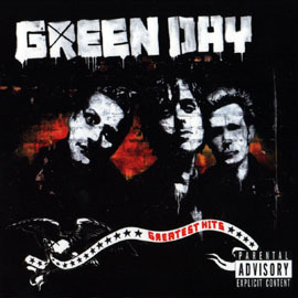 Cover GREEN DAY, greatest hits: god´s favourite band