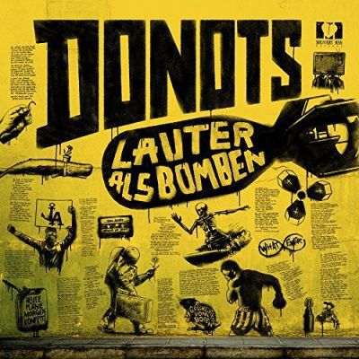 DONOTS, lauter als bomben cover