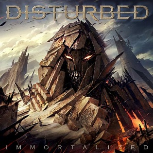 Cover DISTURBED, immortalized