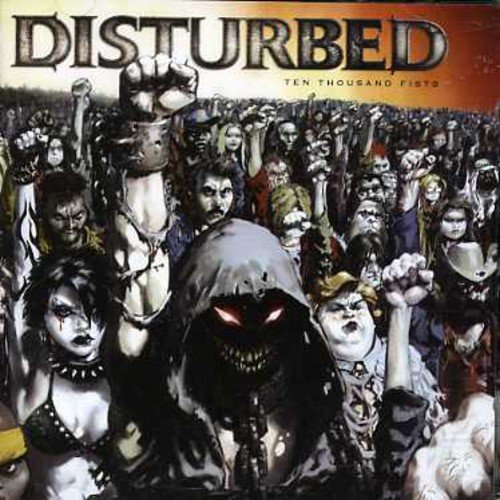 Cover DISTURBED, ten thousand fists