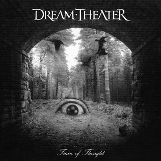 Cover DREAM THEATER, train of thought