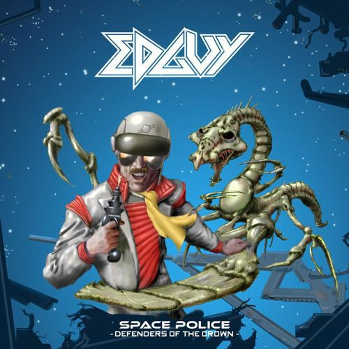 EDGUY, space police - defenders of the crown cover