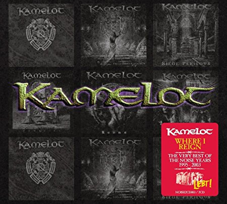 Cover KAMELOT, where i reign - the very best of the noise years