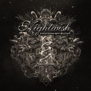 NIGHTWISH, endless forms most beautiful cover
