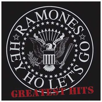 RAMONES, greatest hits - hey ho let´s go cover