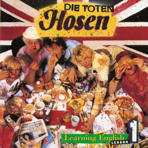 Cover TOTEN HOSEN, learning english - lesson one