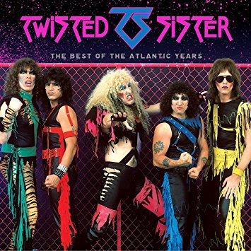 Cover TWISTED SISTER, the best of atlantic years