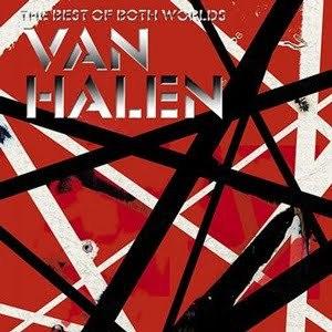 VAN HALEN, the best of both worlds cover