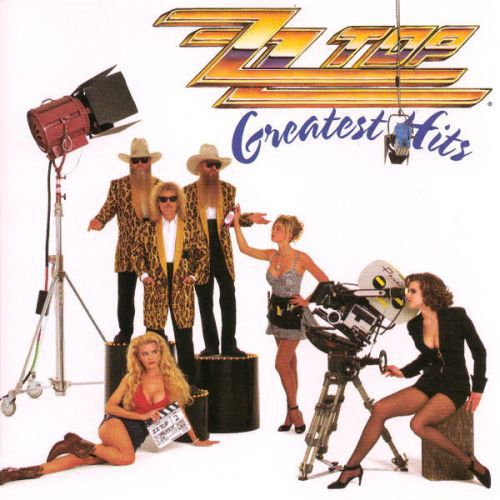 ZZ TOP, greatest hits cover