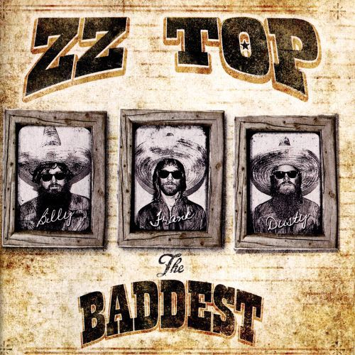 Cover ZZ TOP, the very baddest of zz top