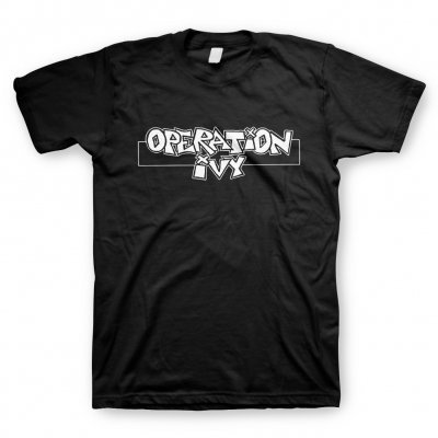 Cover OPERATION IVY, logo (boy) black