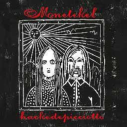 ALEXANDER HACKE/DANIELLE DE PICCIOTTO, menetekel cover