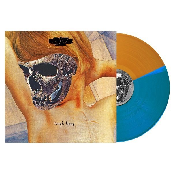 Cover KADAVAR, rough times (orange/blue bi-colored)