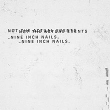 Cover NINE INCH NAILS, not the actual events-ep