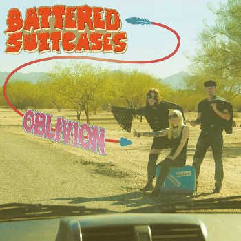 Cover BATTERED SUITCASES, oblivion