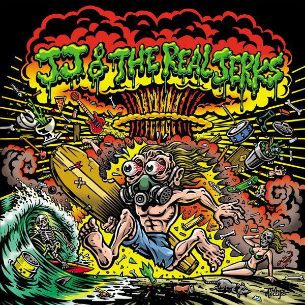 Cover JJ & THE REAL JERKS, back to the bottom
