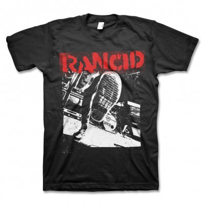 RANCID, boot (boy) black cover