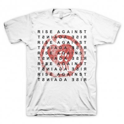 Cover RISE AGAINST, block (boy) white