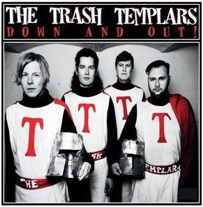 TRASH TEMPLARS, down and out! cover
