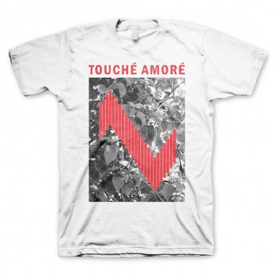 Cover TOUCHE AMORE, admat white (boy) white