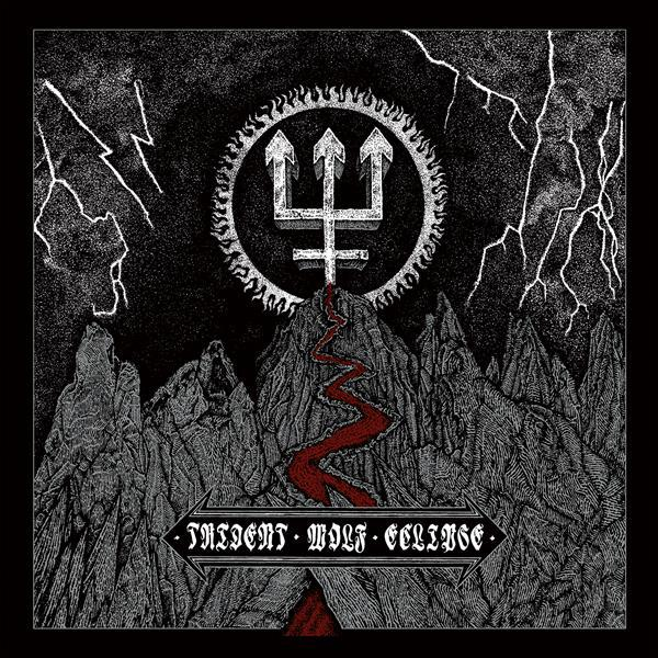 WATAIN, trident wolf eclipse cover