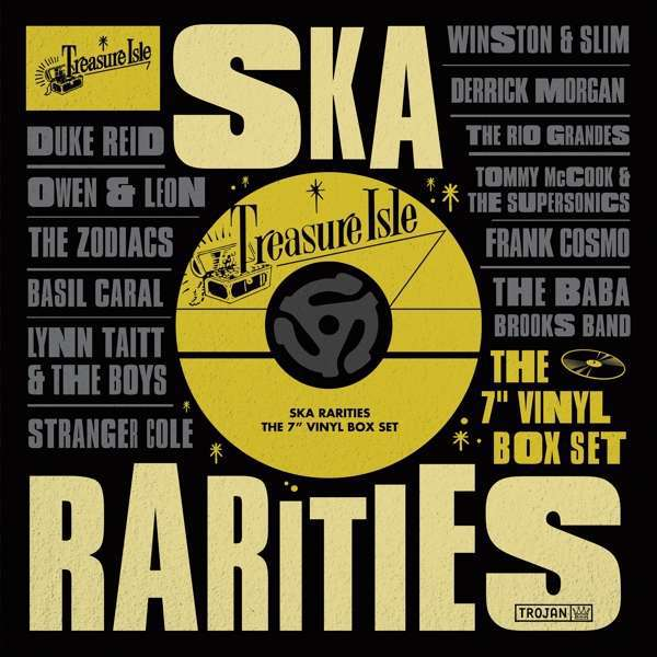 Cover V/A, treasure isle ska rarities