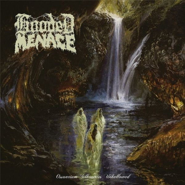Cover HOODED MENACE, ossuarium silhouettes unhallowed