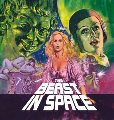 Cover O.S.T. (MARCELLO GIOMBINI), the beast in space