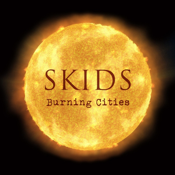 Cover SKIDS, burning cities
