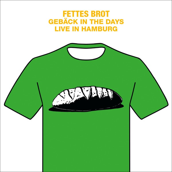 FETTES BROT, gebäck in the days - live in hamburg 2016 cover