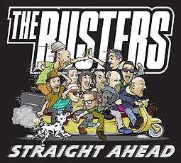 BUSTERS, straight ahead cover