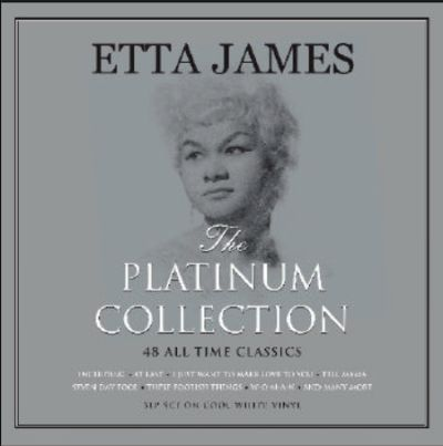 ETTA JAMES, platinum collection cover