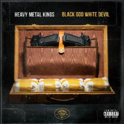 Cover HEAVY METAL KINGS, black god white devil