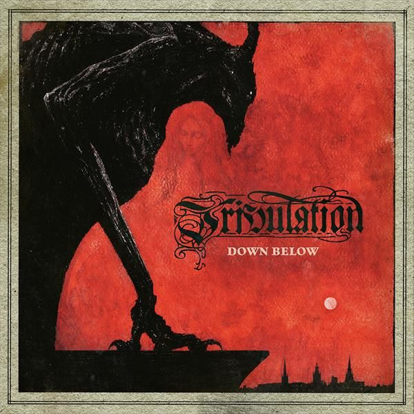 TRIBULATION, down below cover