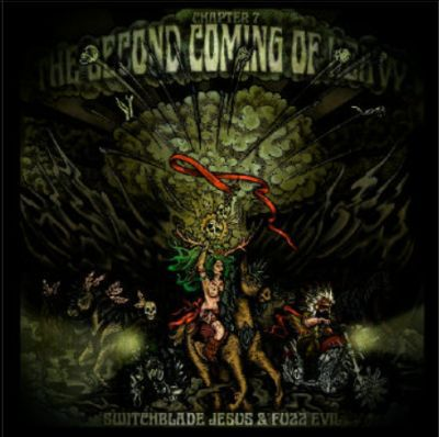 SWITCHBLADE JESUS & FUZZ EVIL, second coming of heavy (chapter 7) cover
