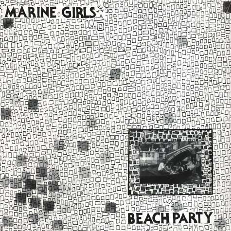 Cover MARINE GIRLS, beach party