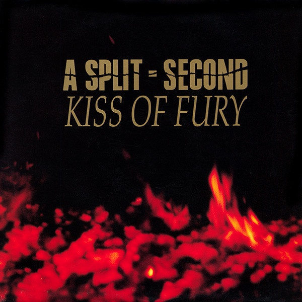 Cover A SPLIT SECOND, kiss of fury