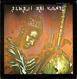 Cover ALHAJI BAI KONTÉ, kora melodies from republic of gambia