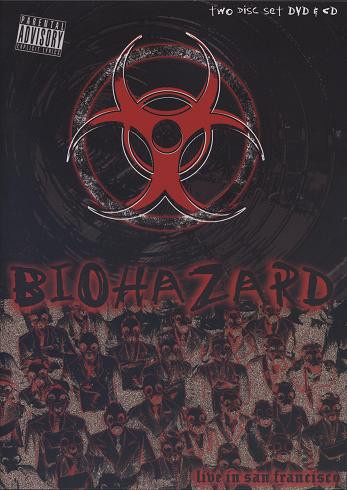 Cover BIOHAZARD, live in san francisco