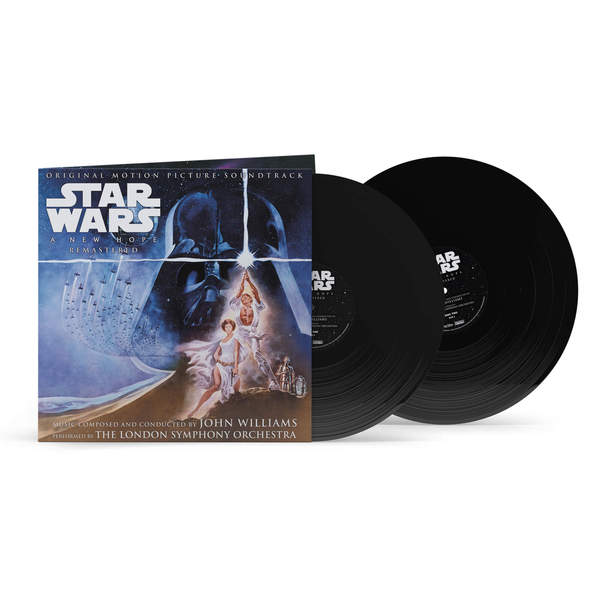 O.S.T., star wars - a new hope  - 40th anniversary box set cover