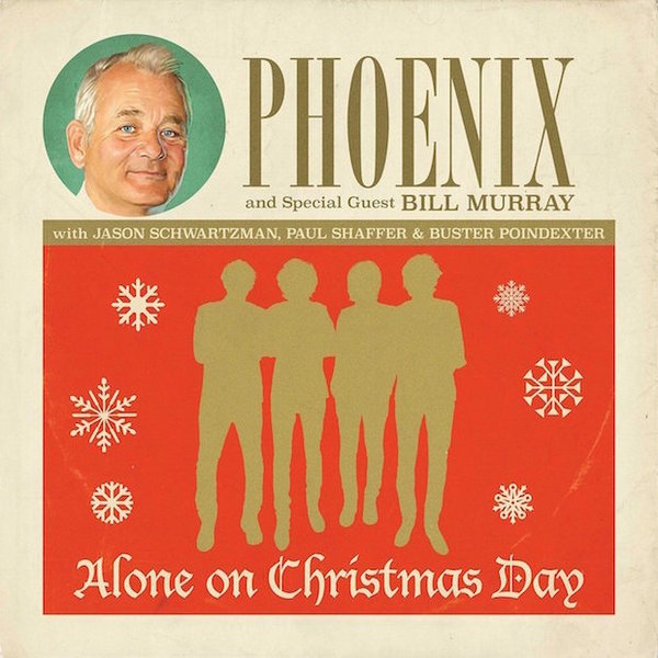 Cover PHOENIX WITH BILL MURRAY, all alone on christmas day