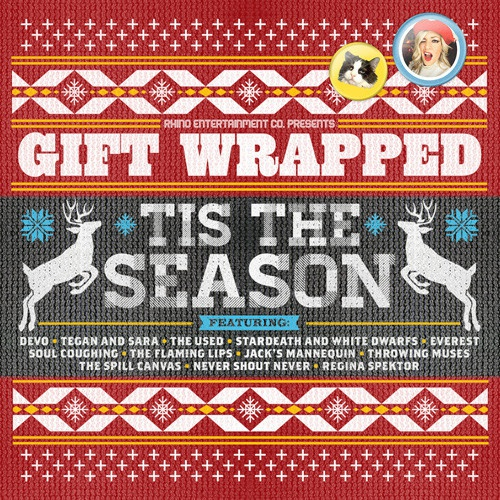 Cover V/A, gift wrapped: ´tis the season