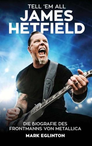 Cover MARK EGLINTON, tell ´em all - james hetfield
