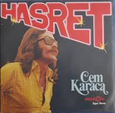 CEM KARACA, hasret cover