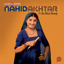 NAHID AKHTAR, i am black beauty cover