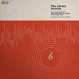 Cover V/A, the library archive - funk, jazz, beats