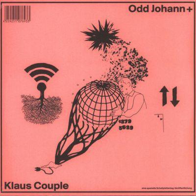 KLAUS JOHANN GROBE / ODD COUPLE, s/t cover
