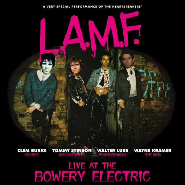 WALTER LURE/CLEM BURKE/TOMMY STINSON//WAYNE KRAMER, l.a.m.f. - live at the bowery electric cover