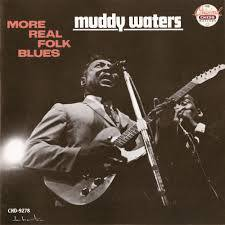 Cover MUDDY WATERS, more real folk blues