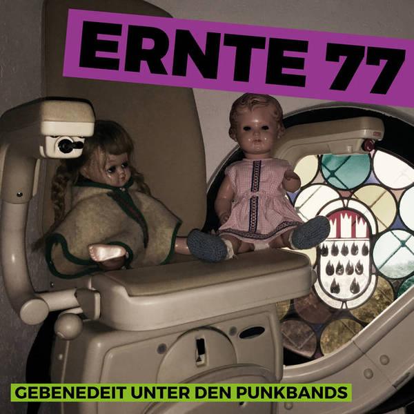 ERNTE 77, gebenedeit unter den punkbands cover